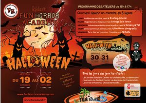 Halloween Fun Party & Fun Horror Academy