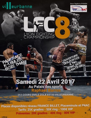 LYON FIGHTING CHAMPIONSHIP #8