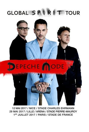 DEPECHE MODE:BUS LYON+PELOUSE OR - STADE DE FRANCE