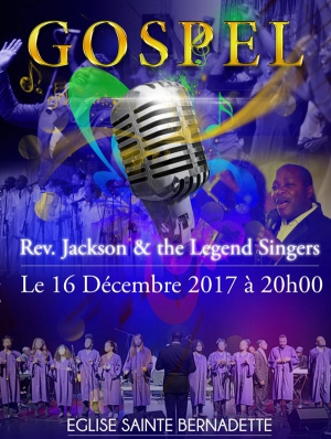 AU COEUR DU GOSPEL - THE GOSPEL LEGEND SINGERS