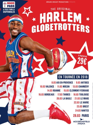 harlem globetrotters maison des sports clermont ferrand 63000 sortir lyon le parisien. Black Bedroom Furniture Sets. Home Design Ideas