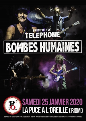 BOMBES HUMAINES - TRIBUTE TO TELEPHONE
