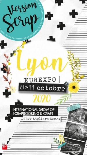 VERSION SCRAP LYON - LE SALON DU SCRAPBOOKING