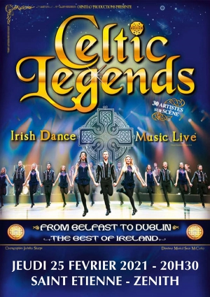 CELTIC LEGENDS - FROM BELFAST TO DUBLIN TOUR 2021