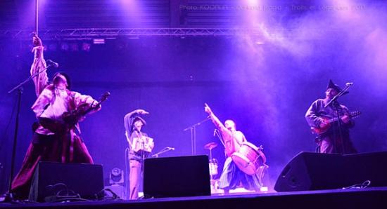 La Horde Avec En 1ere Partie Les Bons A Tirer Bal Folk Costume