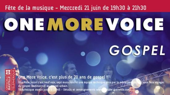 One more voice f te de la musique 2017 bastille grenoble 38000 sortir lyon le - Fete de la musique 2017 date ...