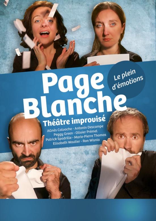 PAGE BLANCHE - Théatre de l\'Improvidence, Lyon, 69003 - Sortir à ...