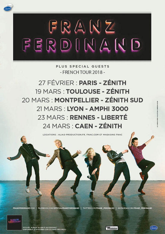 franz ferdinand guest amphit tre lyon 69006 sortir lyon le parisien etudiant. Black Bedroom Furniture Sets. Home Design Ideas