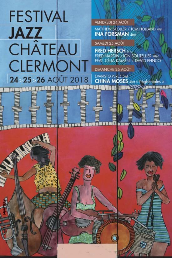 fest jazz clermont en genevois 3j valable du 24 au 26 aout 2018 chateau de clermont en. Black Bedroom Furniture Sets. Home Design Ideas