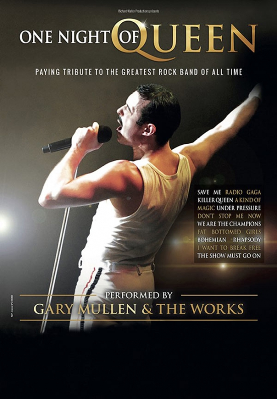 ONE NIGHT OF QUEEN - PERFORMED BY G. MULLER & THE WORKS