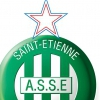 affiche AS SAINT-ETIENNE / SM CAEN - CHAMPIONNAT FOOTBALL PROFESSIONNEL