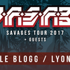 affiche W.A.S.A.B.I - SAVAGES TOUR 2017 - Le Blogg