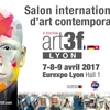 affiche Exposition Internationale d'Art Contemporain Art3F