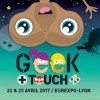 affiche GEEK TOUCH 2017 - FESTIVAL POP CULTURE