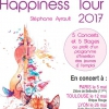affiche HAPPINESS TOUR