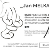 affiche Opening Studio H13 x Jan MELKA residency restitution