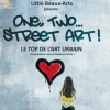 affiche ONE,TWO,...STREET ART ! - VISITE GUIDEE+ATELIER 3/5 ANS