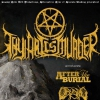 affiche THY ART IS MURDER+AFTER THE BURIAL+ - OCEANO + JUSTICE FOR THE DAMNED