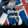 affiche OMNIUM GATHERUM+SKALMOLD+STAM1NA - THE ARCTIC CIRCLE ALLIANCE/CHAPTER1