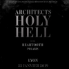 affiche ARCHITECTS + BEARTOOTH + POLARIS