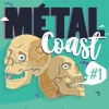 affiche METAL COAST #1 - BORN FROM PAIN + HORSKH