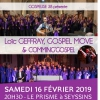 affiche L. GEFFRAY, GOSPELMOVE & COMMING - CONCERT GOSPEL