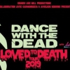 affiche DANCE WITH THE DEAD + LEBROCK