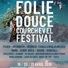 affiche LA FOLIE DOUCE COURCHEVEL FESTIVAL