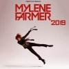 affiche MYLENE FARMER BUS GRENOBLE+FOSSE OR - PARIS DEFENSE ARENA