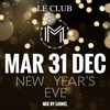 affiche New Year's Eve - La Maison