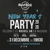 affiche New Year's Party 2020 / Hard Rock Cafe Lyon