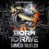 affiche BORN TO RAVE - Double Mixte