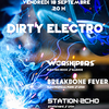 affiche Dirty Electro #3 : Station Echo, Breakbone Fever et Worshipers