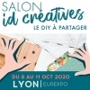 affiche ID CRÉATIVES LYON - LE SALON DU DO IT YOURSELF