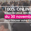 affiche Le Village des Recruteurs de Grand Lyon 2020 100% virtuel !