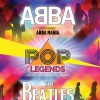 affiche POP LEGENDS : ABBA & THE BEATLES - by ABBA MANIA & THE BESTBEAT