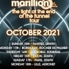 affiche MARILLION - The Light At The End Of The Tunnel